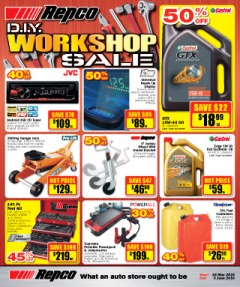 DIY Workshop Sale
