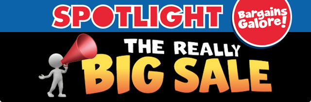 Spotlight The Really Big Sale