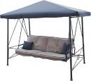 Outdoor-Creations-Velago-Gazebo-Padded-Steel-Bed-Swing on sale