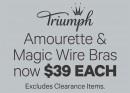 Triumph-Amourette-Magic-Wire-Bras-now-39-Each on sale