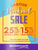Goldmark-Labour-Weekend-Sale