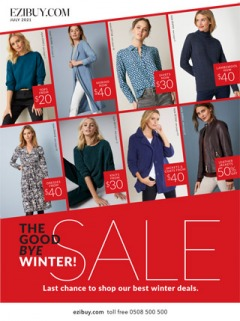 Last Chance Winter Sale