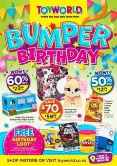 Bumper Birthday