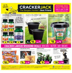 Cracker Labour Weekend Deals