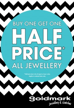 Buy One Get One Half Price* All Jewellery