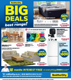 Big Deals on the Best Range