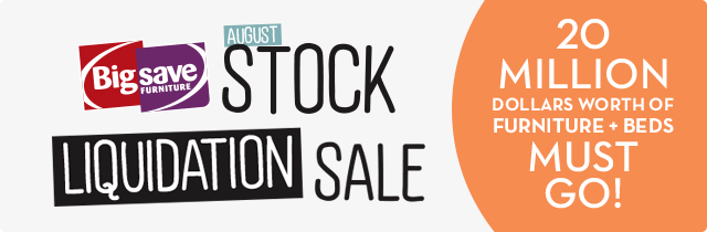 Big Save Stock Liquidation Sale