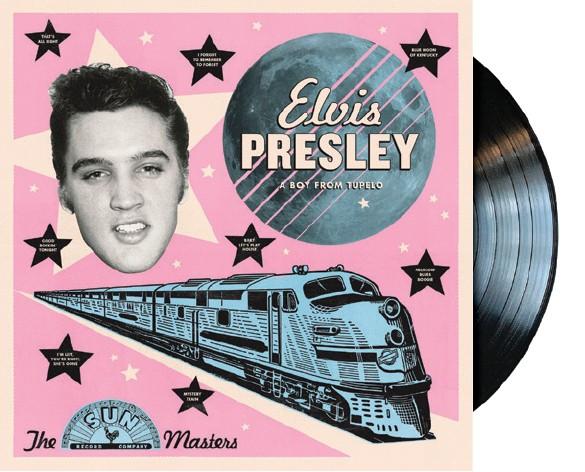 Elvis Presley: A Boy from Tupelo; The Sun Masters (1956) Vinyl