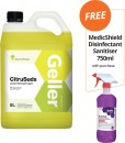 Geller-5L-Range-FREE-MEDICSHIELD-DISINFECTANT-SANITISER-750ML-WITH-PURCHASE Sale