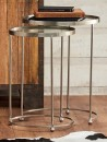 NEW-Marcello-Co-Eclipse-Set-of-2-Nested-Glass-Tables on sale