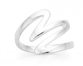 Zig-Zag-Ring-in-Sterling-Silver on sale