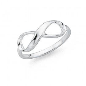 Infinity-Twist-Dress-Ring-in-Sterling-Silver on sale
