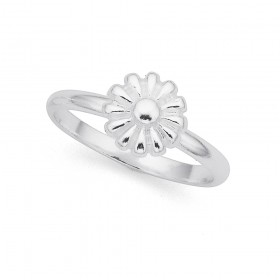 Daisy-Ring-in-Sterling-Silver on sale