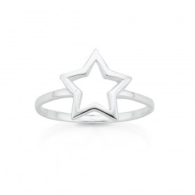 Star-Ring-in-Sterling-Silver on sale