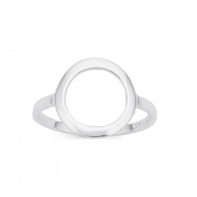 Circle-Ring-in-Sterling-Silver on sale