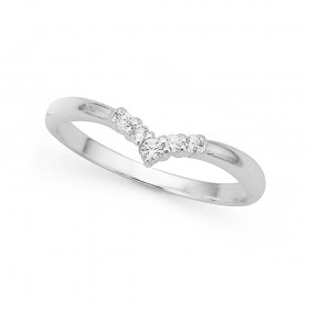 Cubic-Zirconia-Chevron-Ring-in-Sterling-Silver on sale