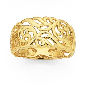 Filigree-Ring-in-9ct-Yellow-Gold on sale