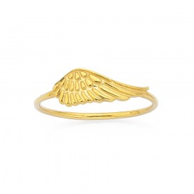 Angel-Wing-Ring-in-9ct-Yellow-Gold on sale