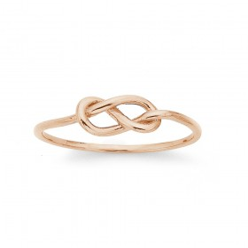 Knot-Ring-in-9ct-Rose-Gold on sale
