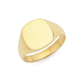 9ct-Gents-Signet-Ring on sale