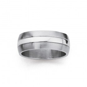 Chisel-Stainless-Steel-Ring-Size-X on sale