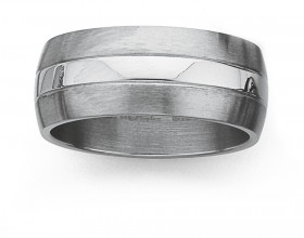 Chisel-Stainless-Steel-Ring on sale
