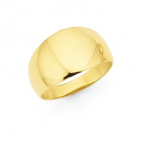 9ct-Dome-Ring on sale