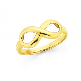 9ct-Infinity-Ring on sale