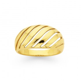9ct-Wave-Ring on sale