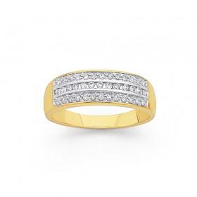 9ct-Diamond-Ring-Total-Diamond-Weight25ct on sale