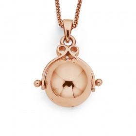 9ct-Rose-Gold-Spinner-Ball-Pendant on sale