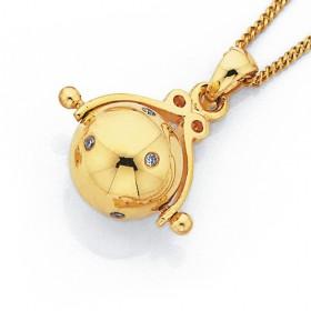 9ct-Diamond-Spinner-Pendant on sale