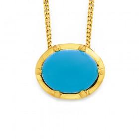 9ct-Turquoise-Pendant on sale