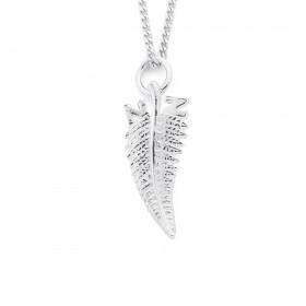 NZ-Silver-Fern-Charm-in-Sterling-Silver on sale