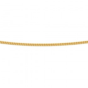 50cm-Fine-Curb-Chain-in-9ct-Yellow-Gold on sale