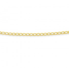 9ct-45cm-Curb-Chain on sale