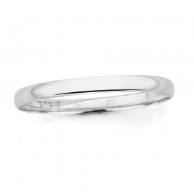 Sterling-Silver-Round-Bangle on sale