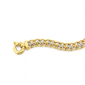 9ct-20cm-Diamond-Set-Bracelet-Total-Diamond-Weight25ct on sale