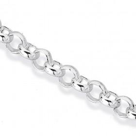 Sterling-Silver-50cm-Belcher-Chain on sale