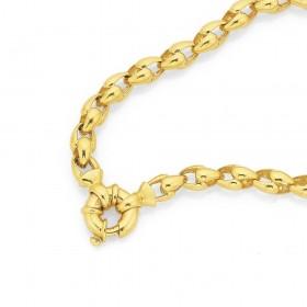 9ct-19cm-Stirrup-Bracelet on sale