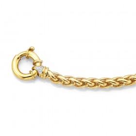 9ct-19cm-Handmade-Diamond-Set-Bracelet on sale