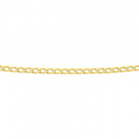 9ct-Gold-70cm-Solid-Curb-Chain on sale