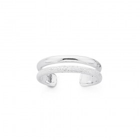 Sterling-Silver-Stardust-Toe-Ring on sale