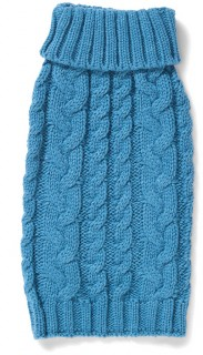 Bond-Co-Cable-Dog-Knit-Blue on sale