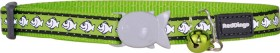Red-Dingo-Cat-Collar-Reflective-Fish-Lime on sale