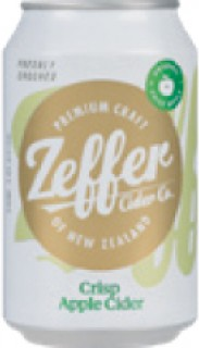 Zeffer-Crisp-Apple-Cider-Can-330ml on sale
