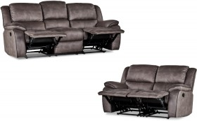 Falcon-3-2-Seater-Sofa-both-with-Inbuilt-Recliners on sale