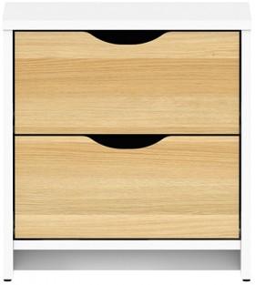 Breeze-2-Drawer-Bedside on sale
