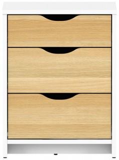 Breeze-3-Drawer-Bedside on sale