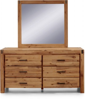 Vancouver-6-Drawer-Dresser-with-Mirror on sale